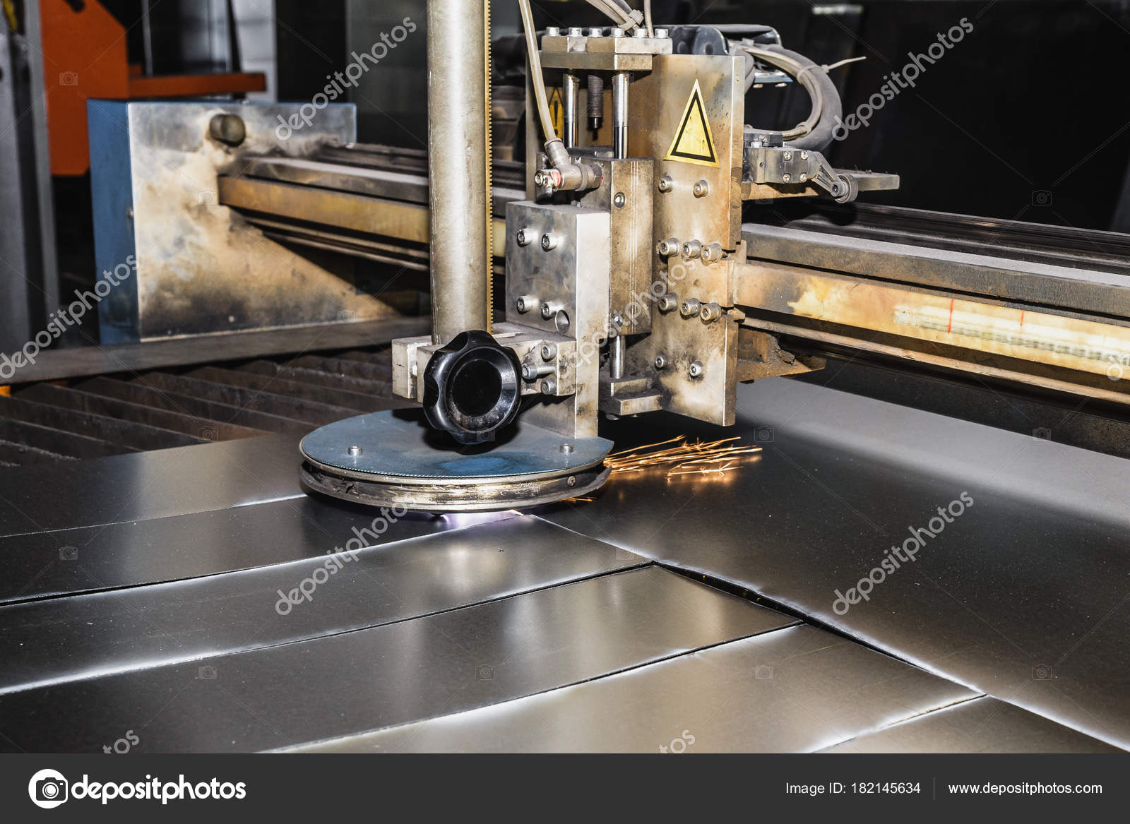 Máquina corte por plasma, Cnc Industrial para carpintería metálica ...