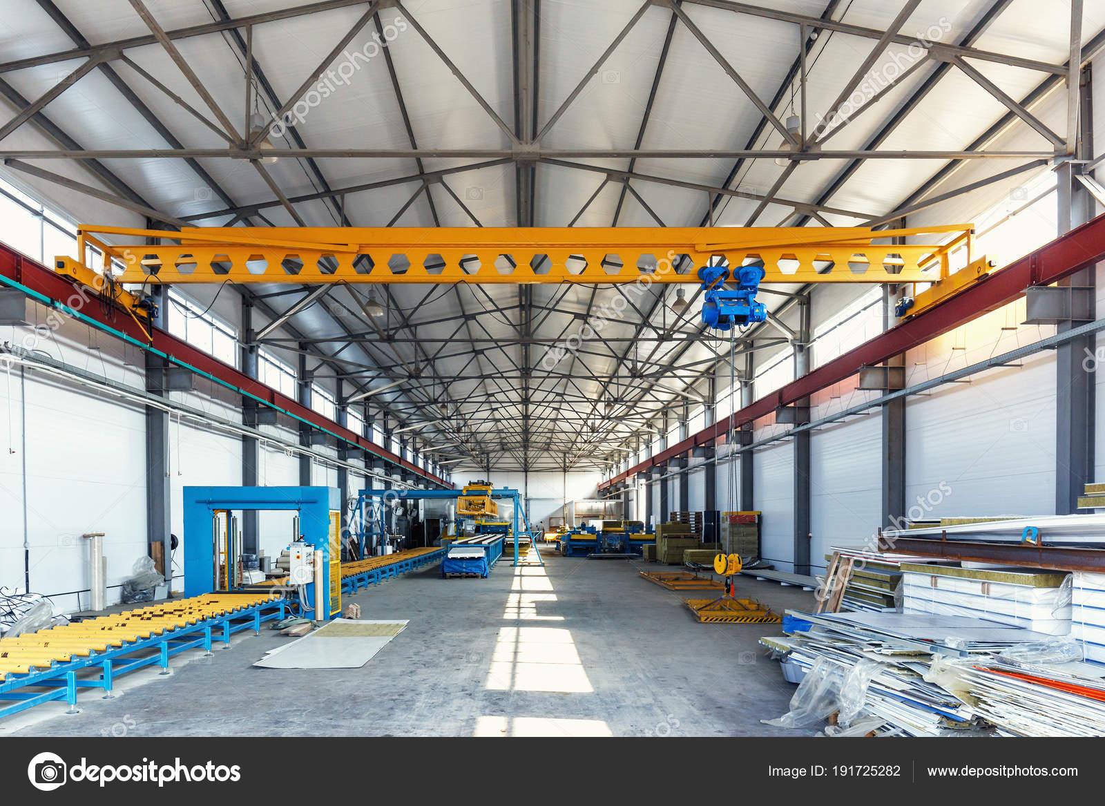 Warehouse manufactory wood waste