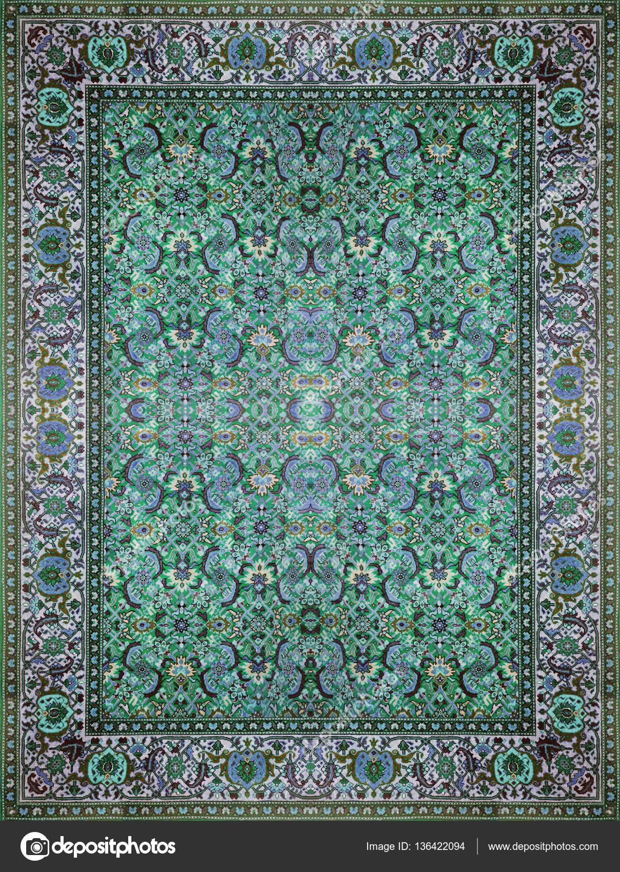 Persk koberec textura abstraktn ornament kulat - Tappeto mandala ...