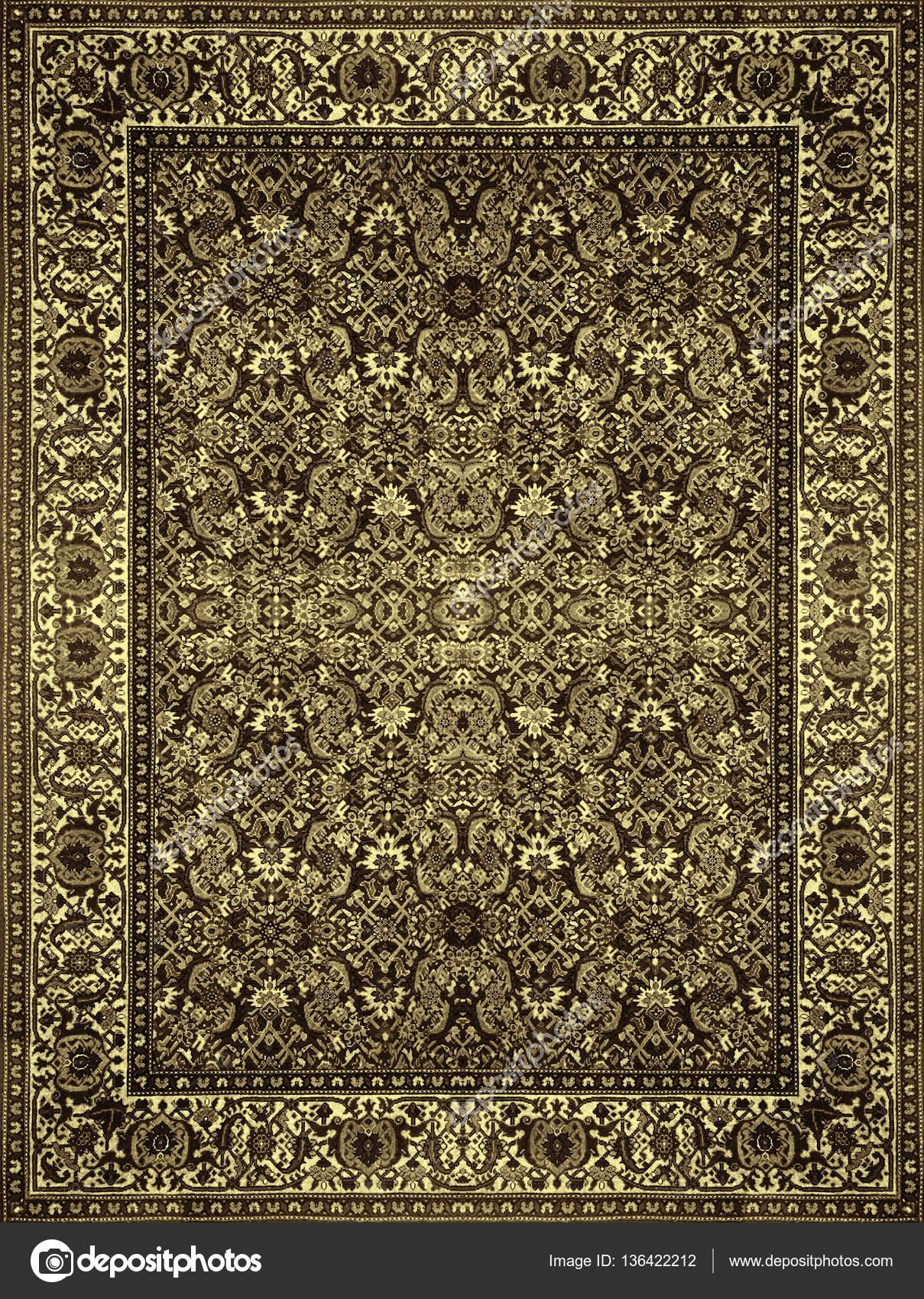 Persische Teppich Textur, Abstrakten Ornament. Runde Mandala Muster, Middle  Eastern Traditionelle Teppich Stoff Textur. Türkis Milchig Blau Grau Braun  Gelb ...