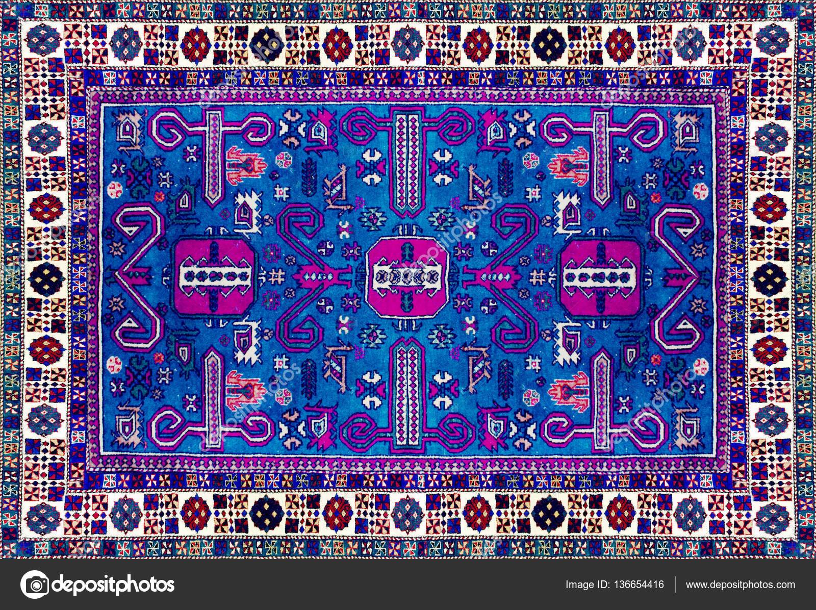 Textura de la alfombra persa ornamento abstracto patr n for Alfombra verde turquesa