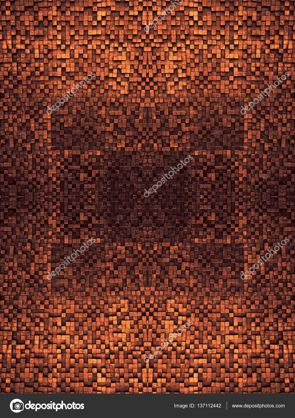 Fragment De Texture Carre Ou Croisement Lignes Mosaique Surface