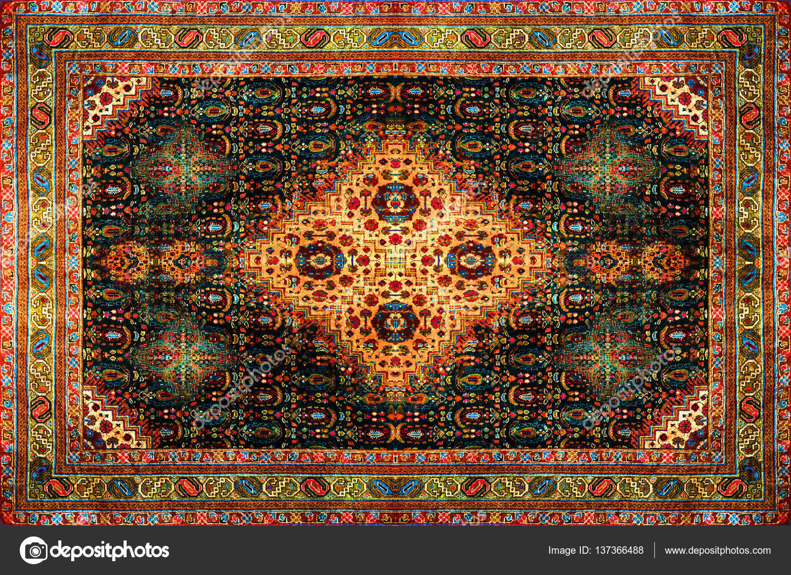Abstract Arab Arabic Art Background Beautiful Brown Carpet Collection Colorful Decor Decoration Design Ethnic Fabric Floor Flooring Floral