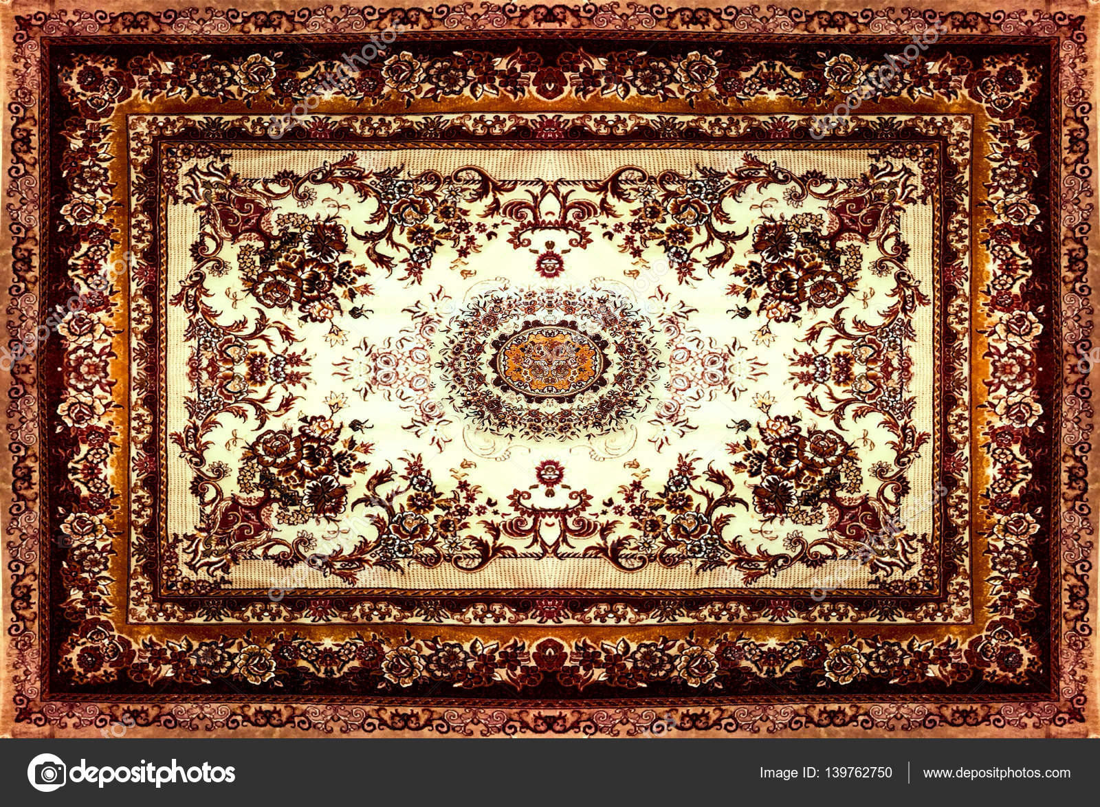 persian carpet texture abstract ornament round mandala pattern middle eastern traditional. Black Bedroom Furniture Sets. Home Design Ideas
