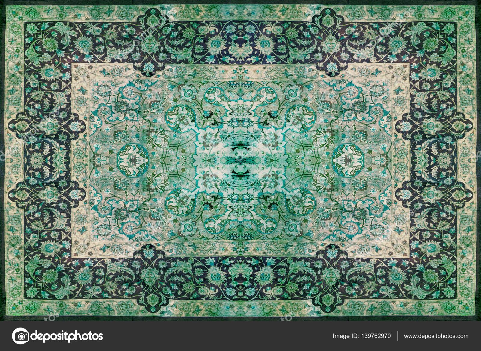 persische teppich textur abstrakten ornament runde