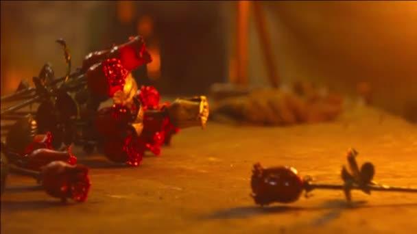 květiny železo ve výhni