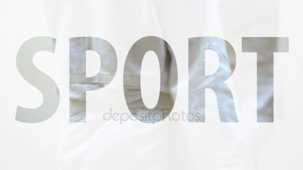 nápis Sport