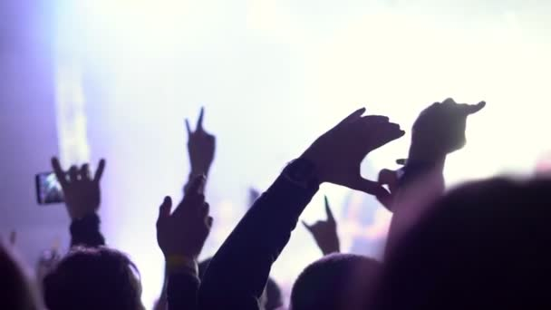 hands of people at a rock concert