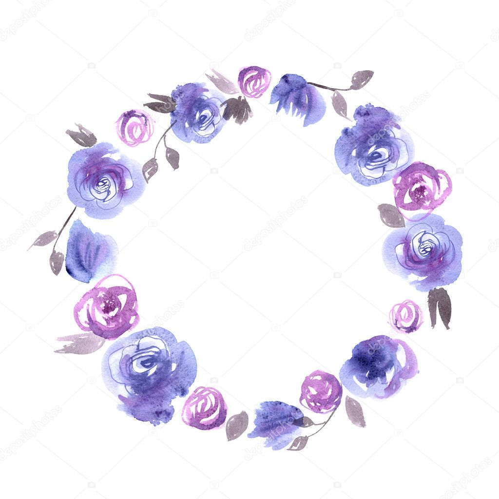 Cute Round Flower Circle Glasses