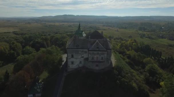 Riprese aeree del Castello di Olesko