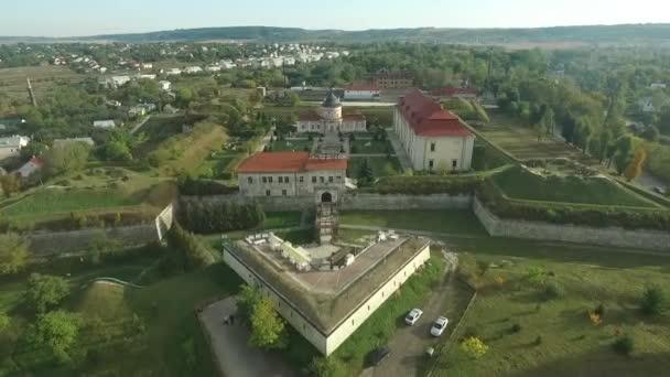 Riprese aeree del castello Zolochiv