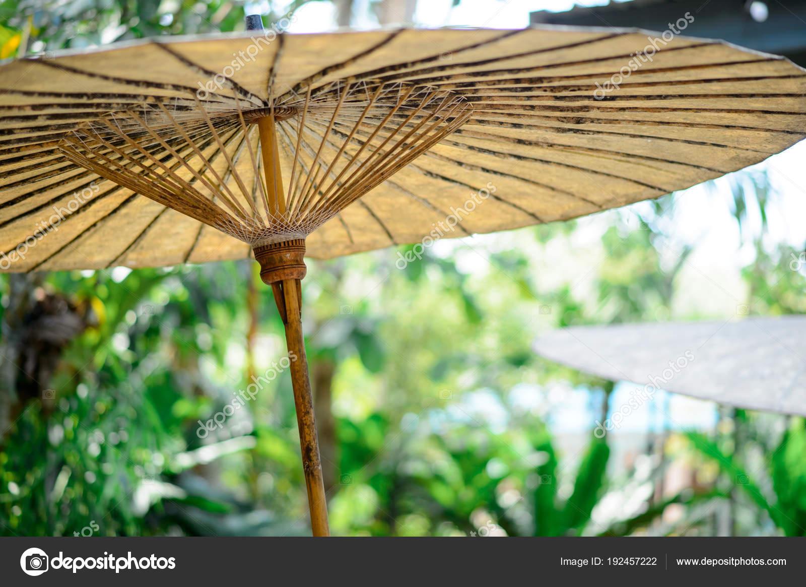 ofertas exclusivas venta caliente unos dias Paraguas de bambú — Foto de stock © sueb4830 #192457222