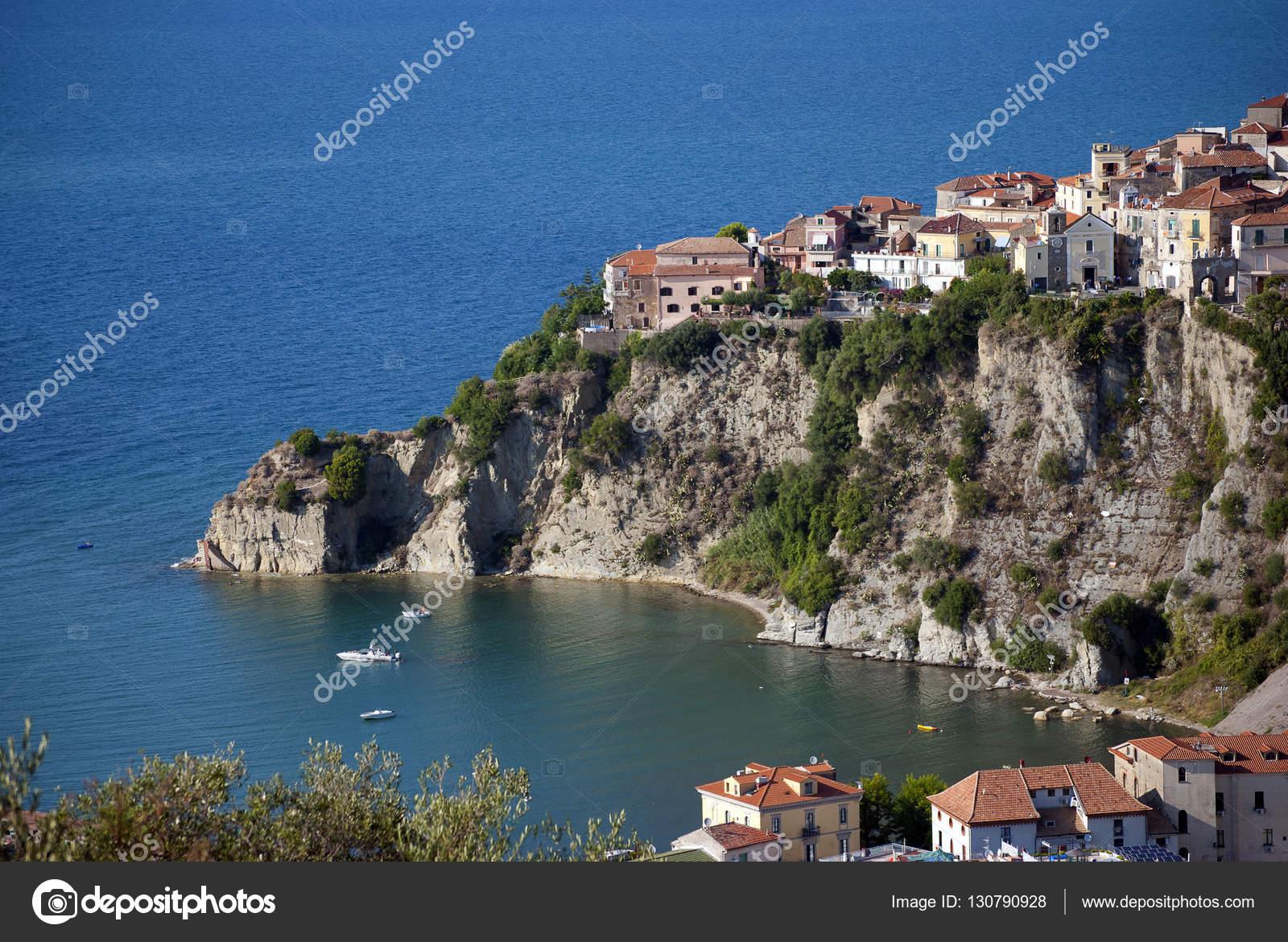 チレント海岸イタリアからアグロ...