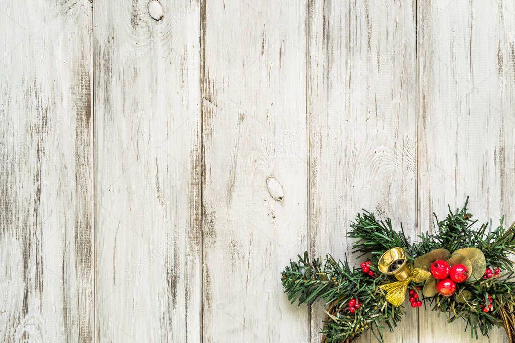 Decorazioni In Legno Per La Casa : Corona di natale ornamentale decorazione porta in legno