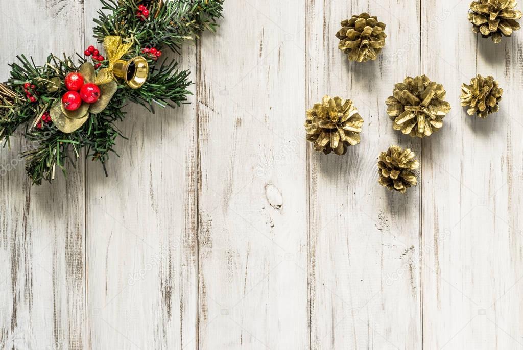 Decorazioni Per Casa Di Natale : Corona di natale ornamentale decorazione porta in legno