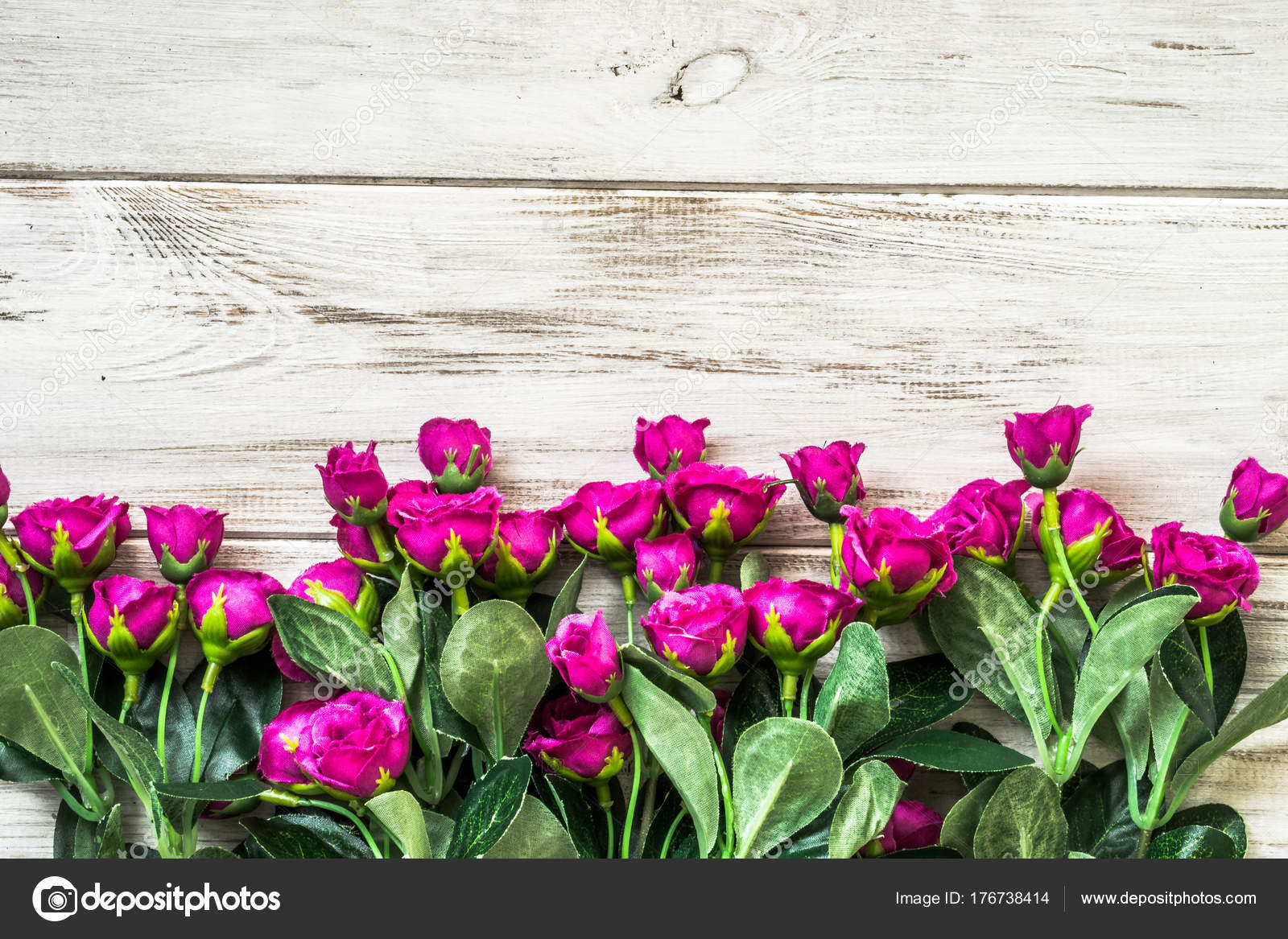 Ramo De Flores Para Fondo De Día De La Mujer O El Regalo Del Día De