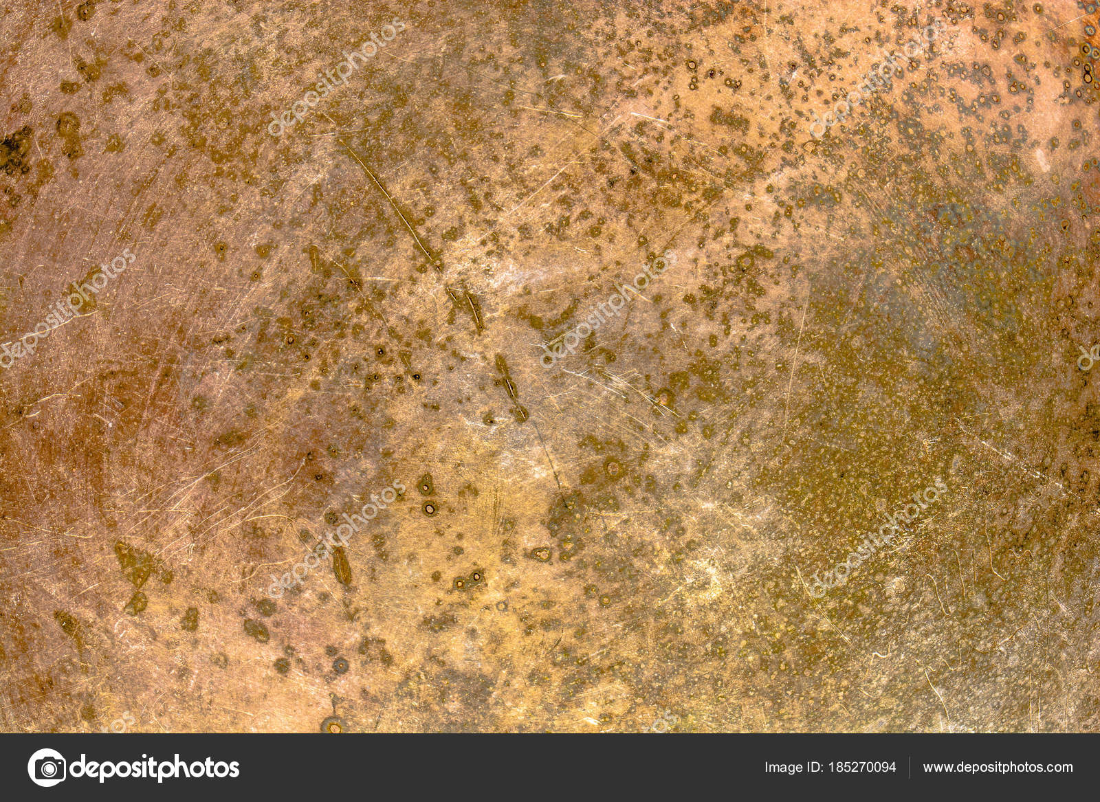 Texture Of Rusty Metal Plate Rustic Background Stock Photo