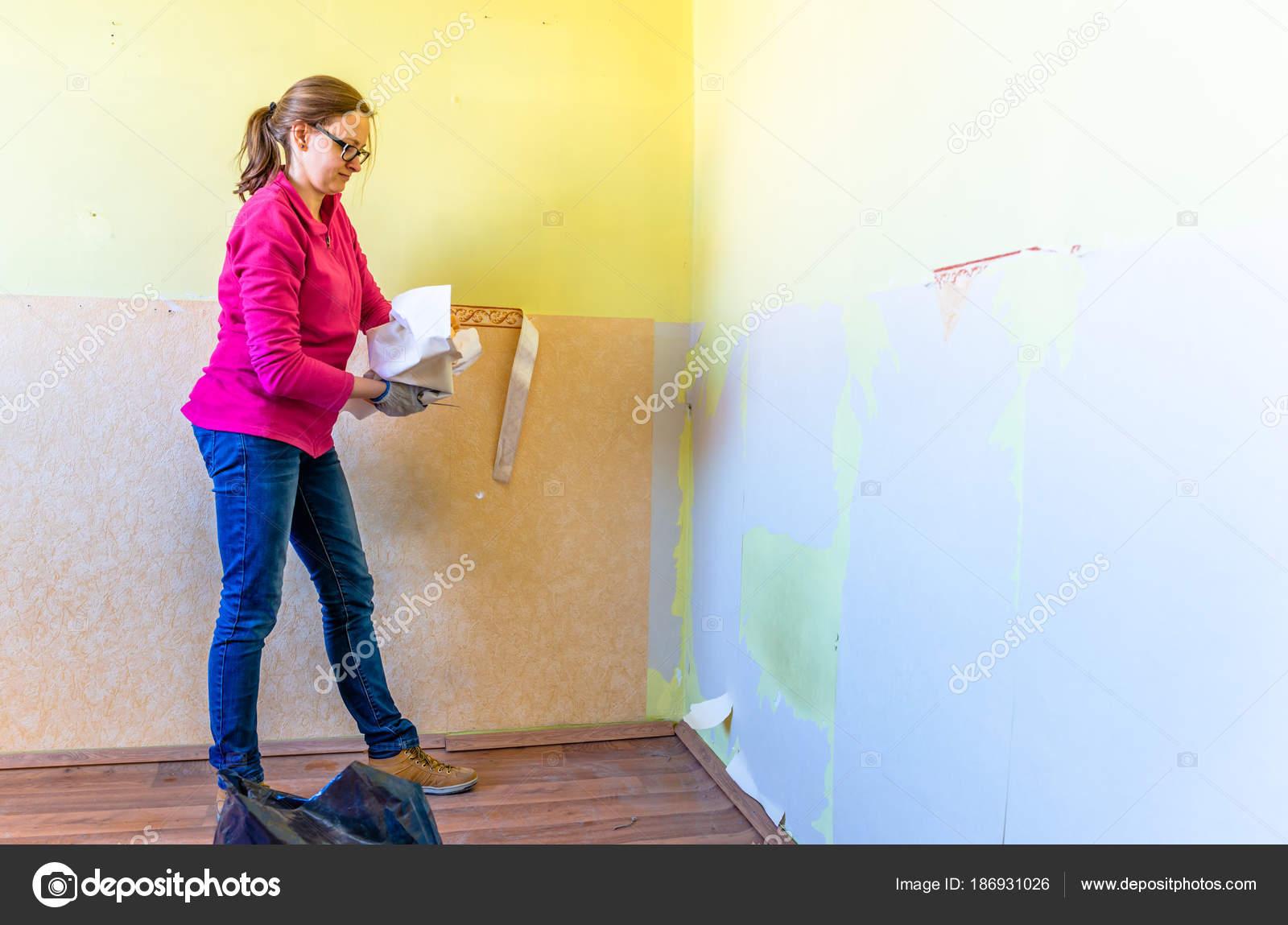 Quitar papel pintado de la pared fabulous with quitar - Quitar papel pintado de la pared ...