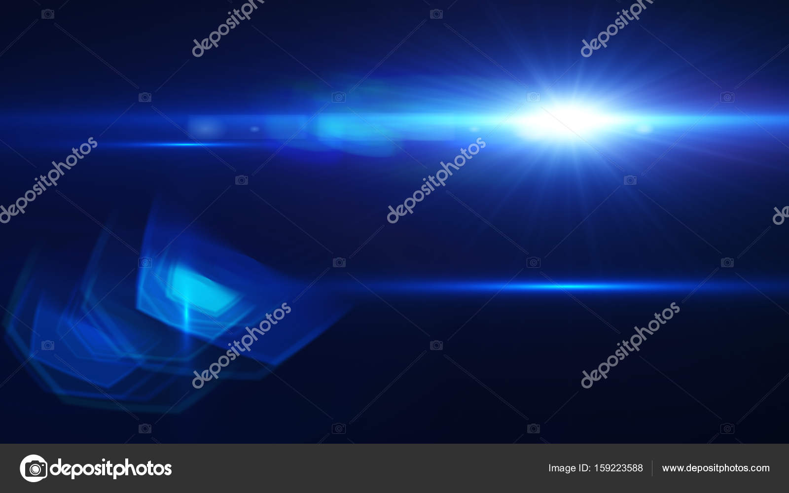 Digital flares special lighting effects on black background  Abstract Len flare. u2014 Photo by vijaifoon & Digital flares special lighting effects on black background ...