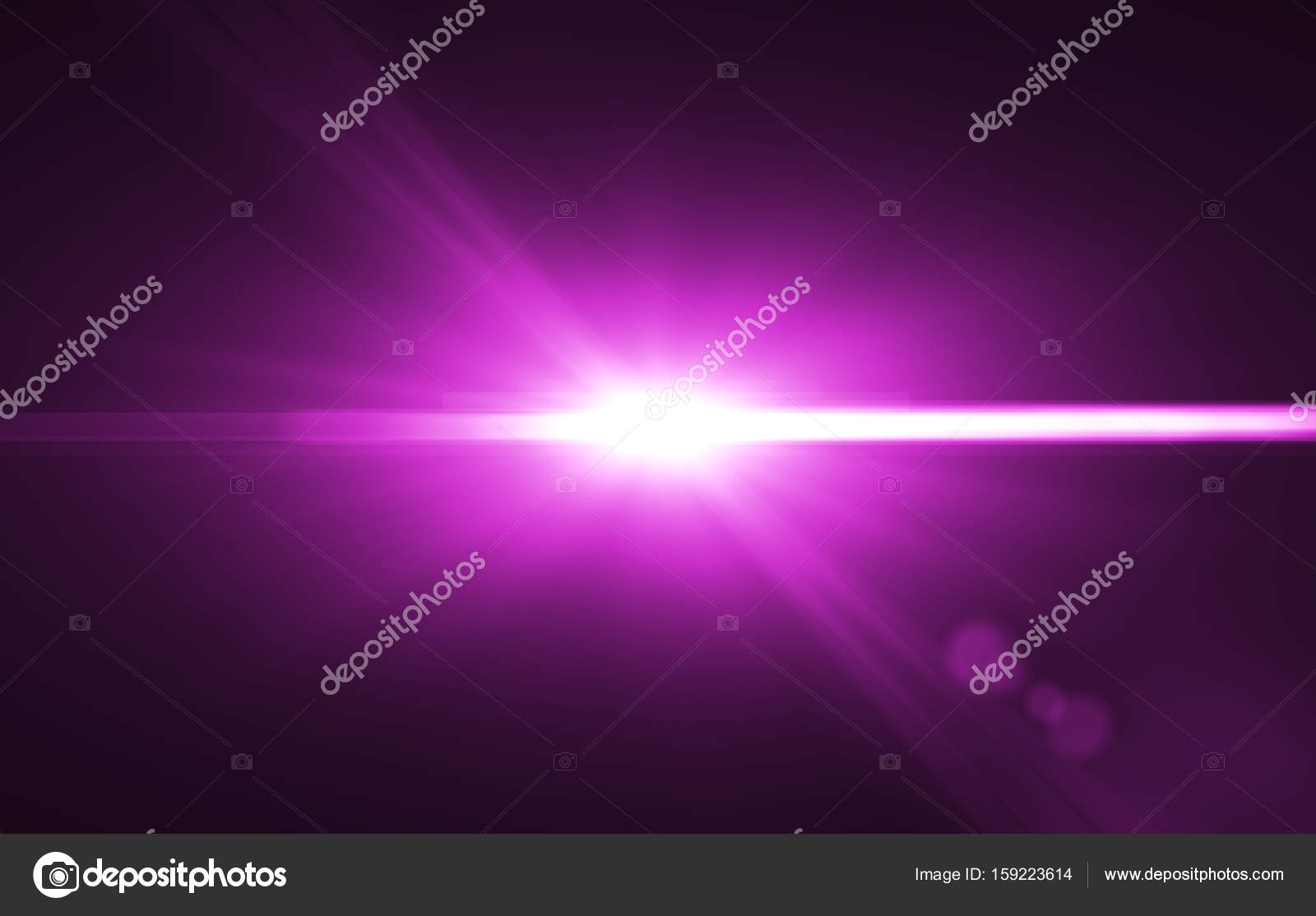 digital flares special lighting effects on black background
