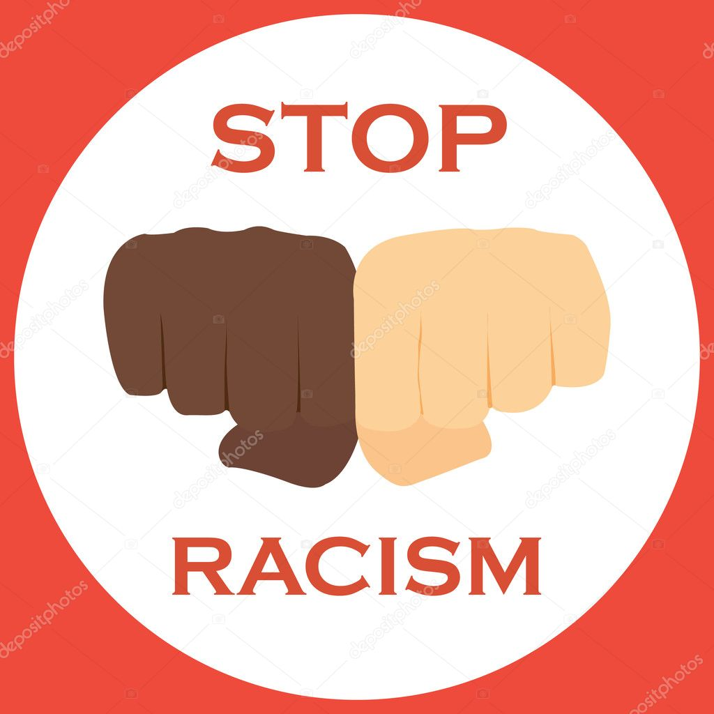 No to racism illustration discrimination symbol stock vector no to racism illustration discrimination symbol vector by gpetric biocorpaavc Images