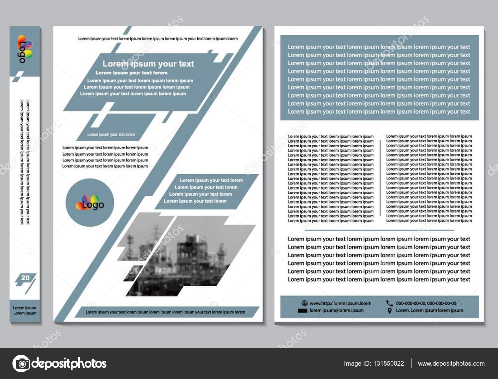 Flyer design Vorlage Vektor. Business Broschüre Magazin Plakat ...