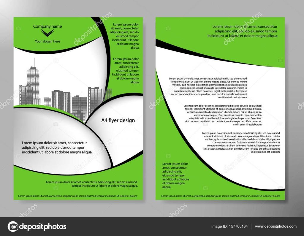 最小限のチラシは ビジネス雑誌ポスター レイアウト ポートフォリオ