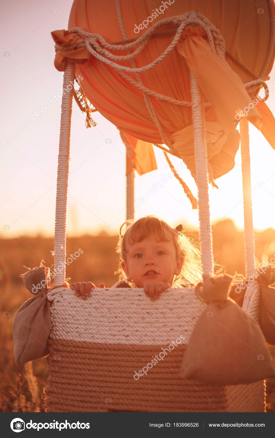 Воздушный шар и ребенок 41