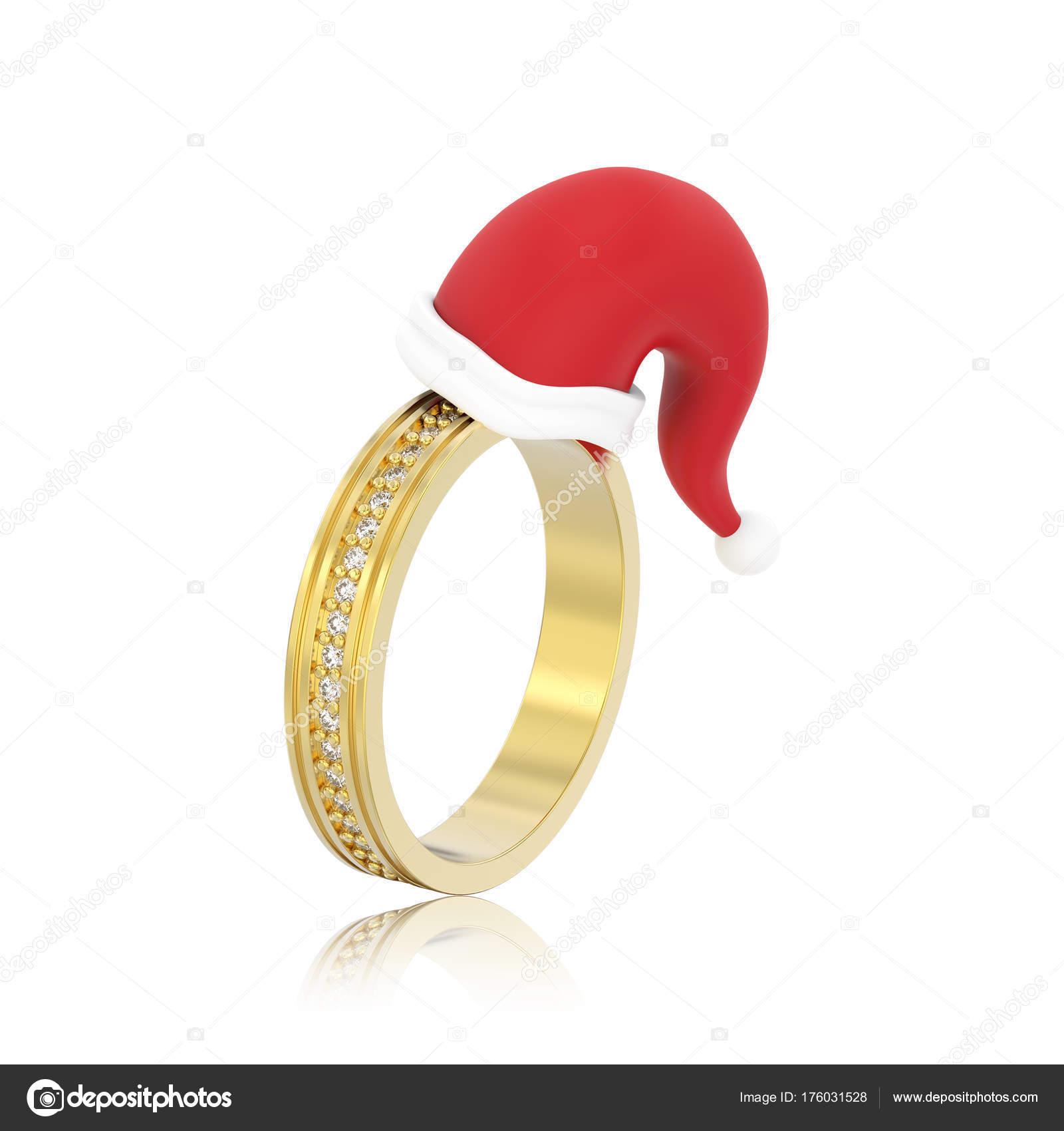 3 D イラスト分離された黄色の婚約結婚指輪ダイヤ ストック写真