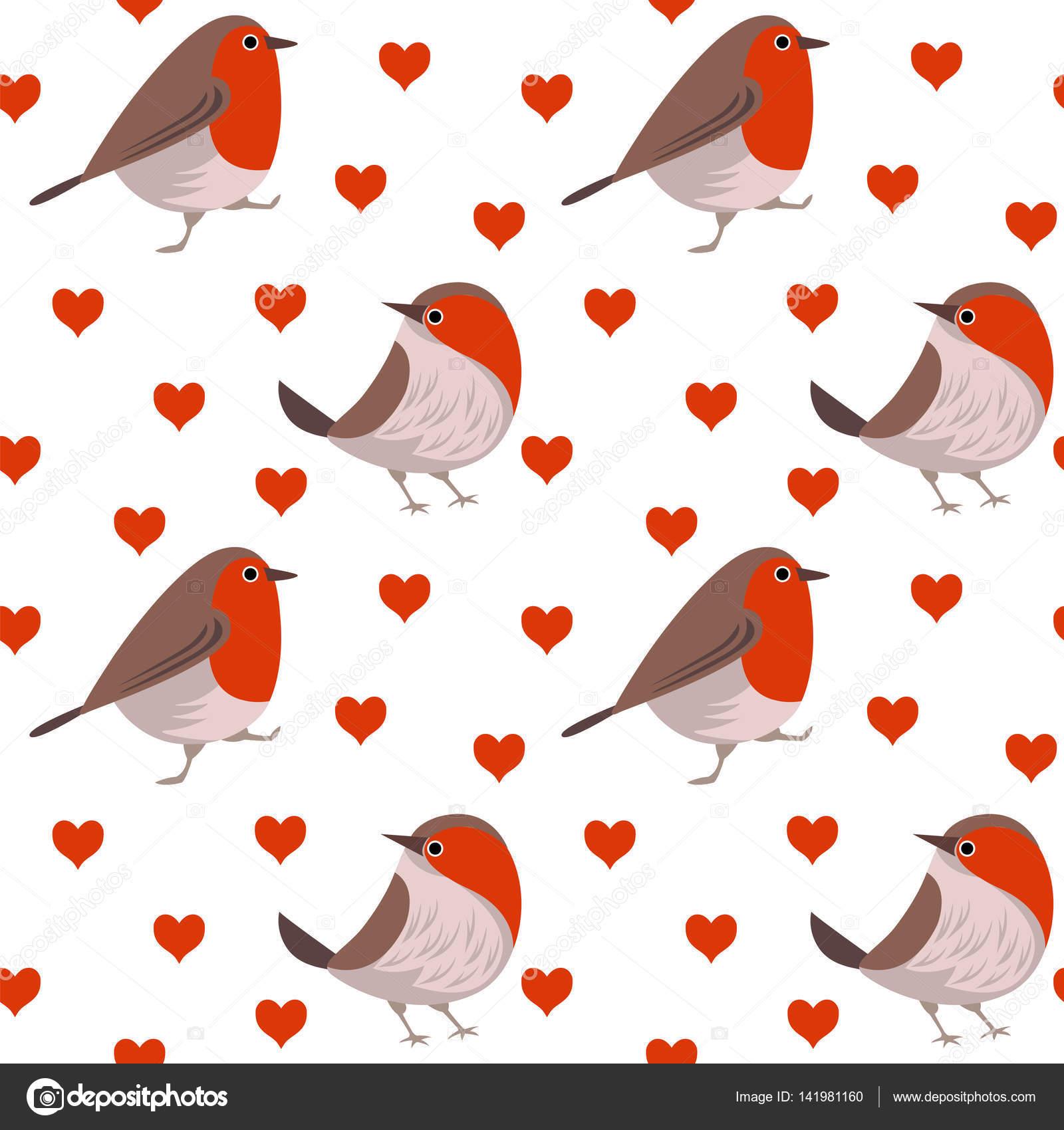 Lustige Muster Mit Vogel Stockvektor C Qwerty1204 141981160