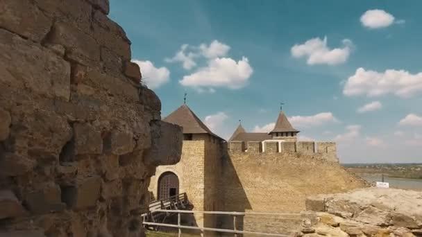 Aerial shot castle