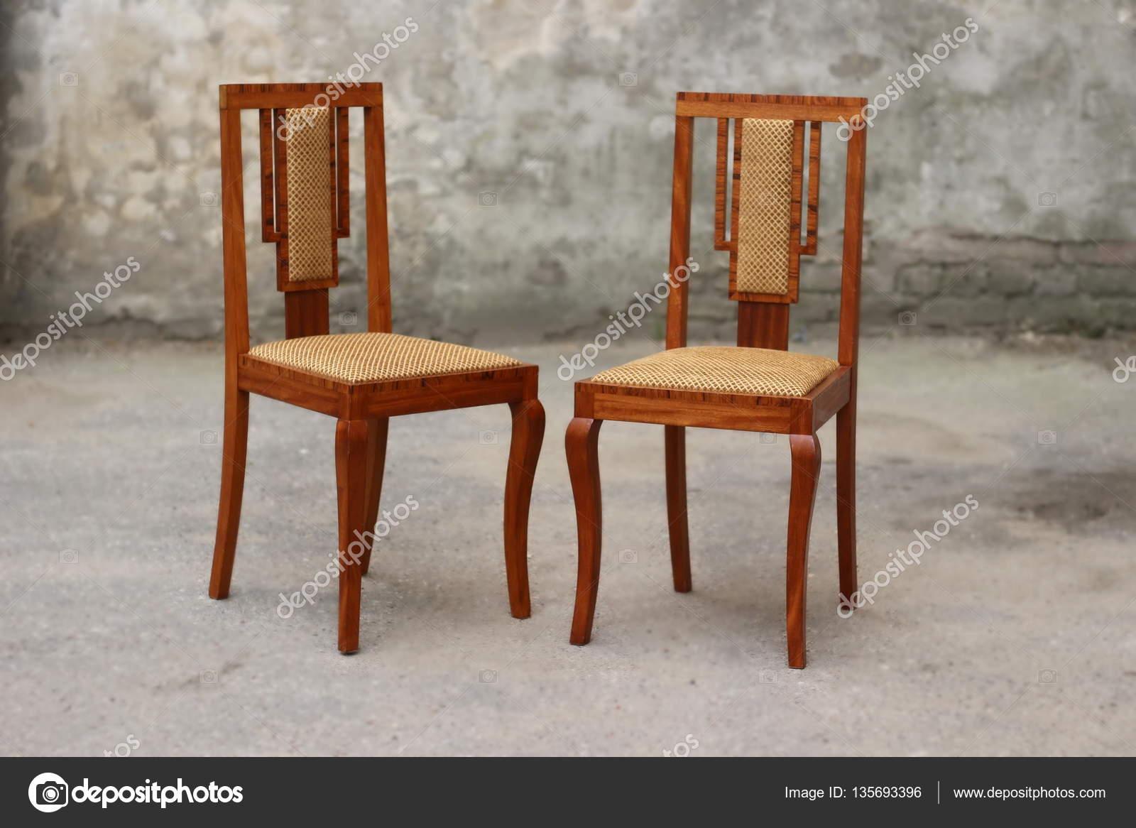 vintage art deco furniture. Old Art Deco Chair \u2014 Stock Photo Vintage Furniture
