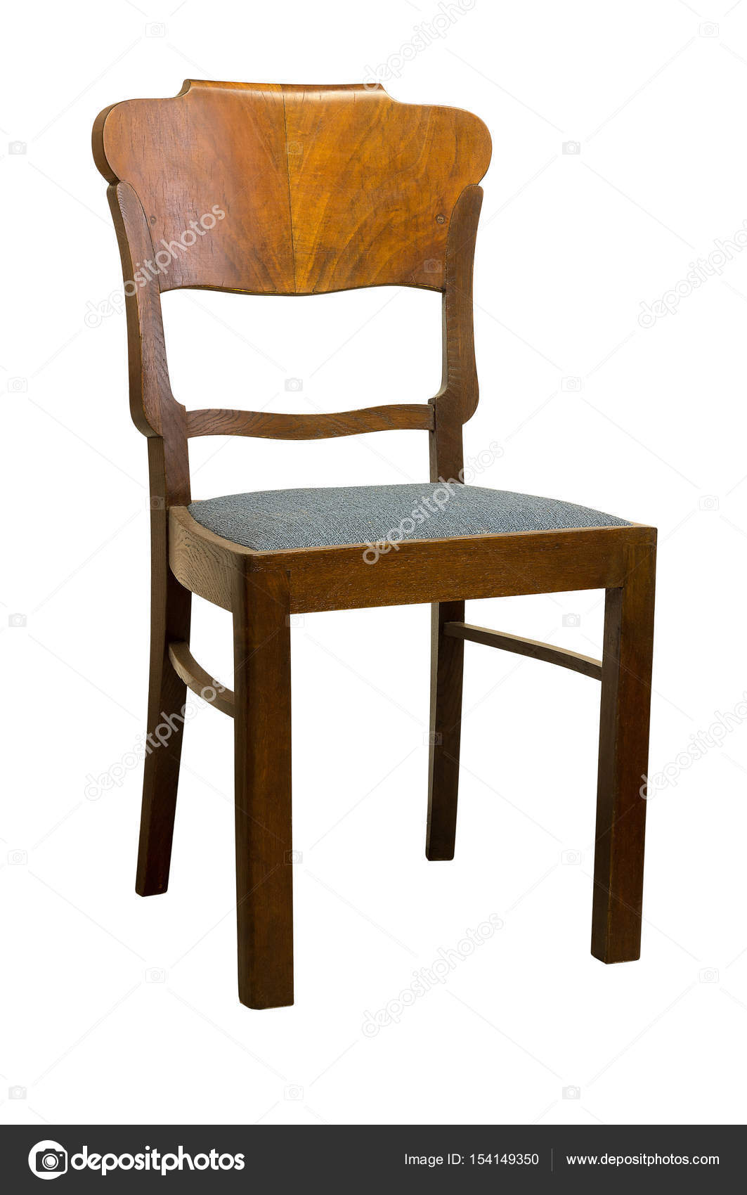 vintage art deco furniture. Vintage Art Deco Chair Isolated On White Background \u2014 Stock Photo Furniture L