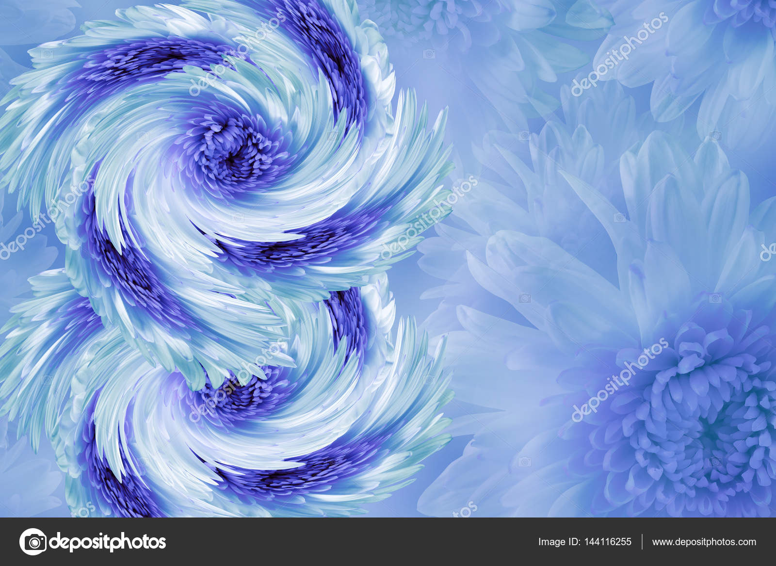 Flowers on blurry white blue turquoise background blue white violet flowers on blurry white blue turquoise background blue white violet flowers izmirmasajfo