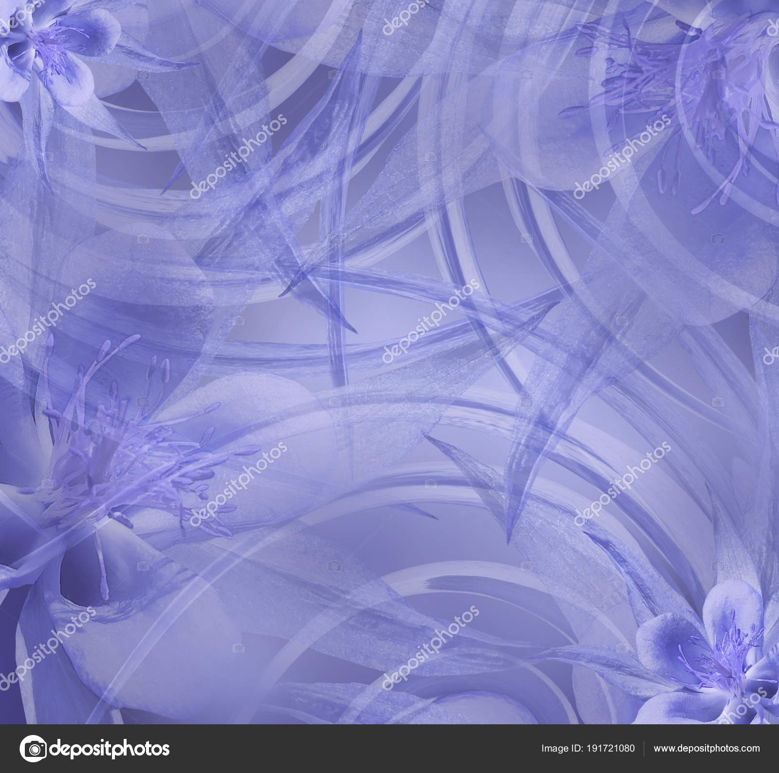 Floral Blue White Beautiful Background Wallpapers Light Blue Flowers