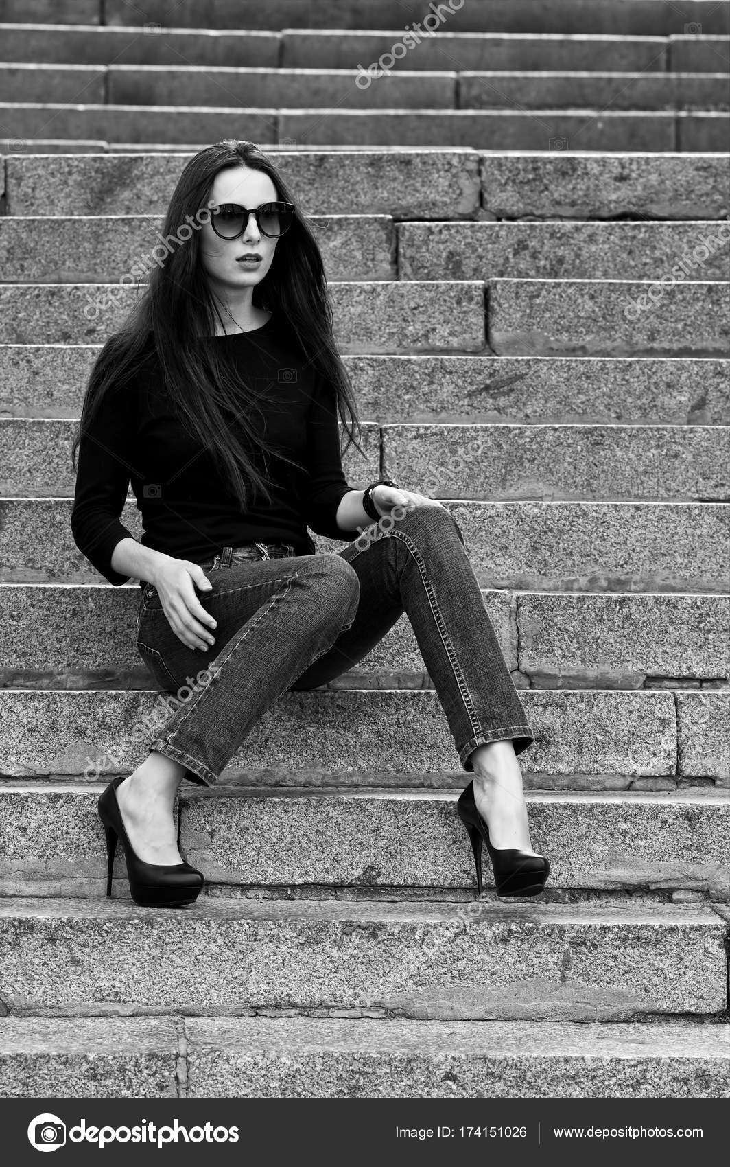 E Jeans E Nera Donna Maglia Nera Jeans Nera Donna E Jeans Maglia Maglia 7b6gfyY