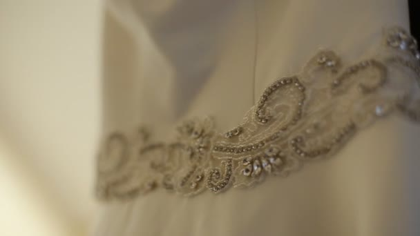 Diamond Brooch at Luxury Wedding Dress