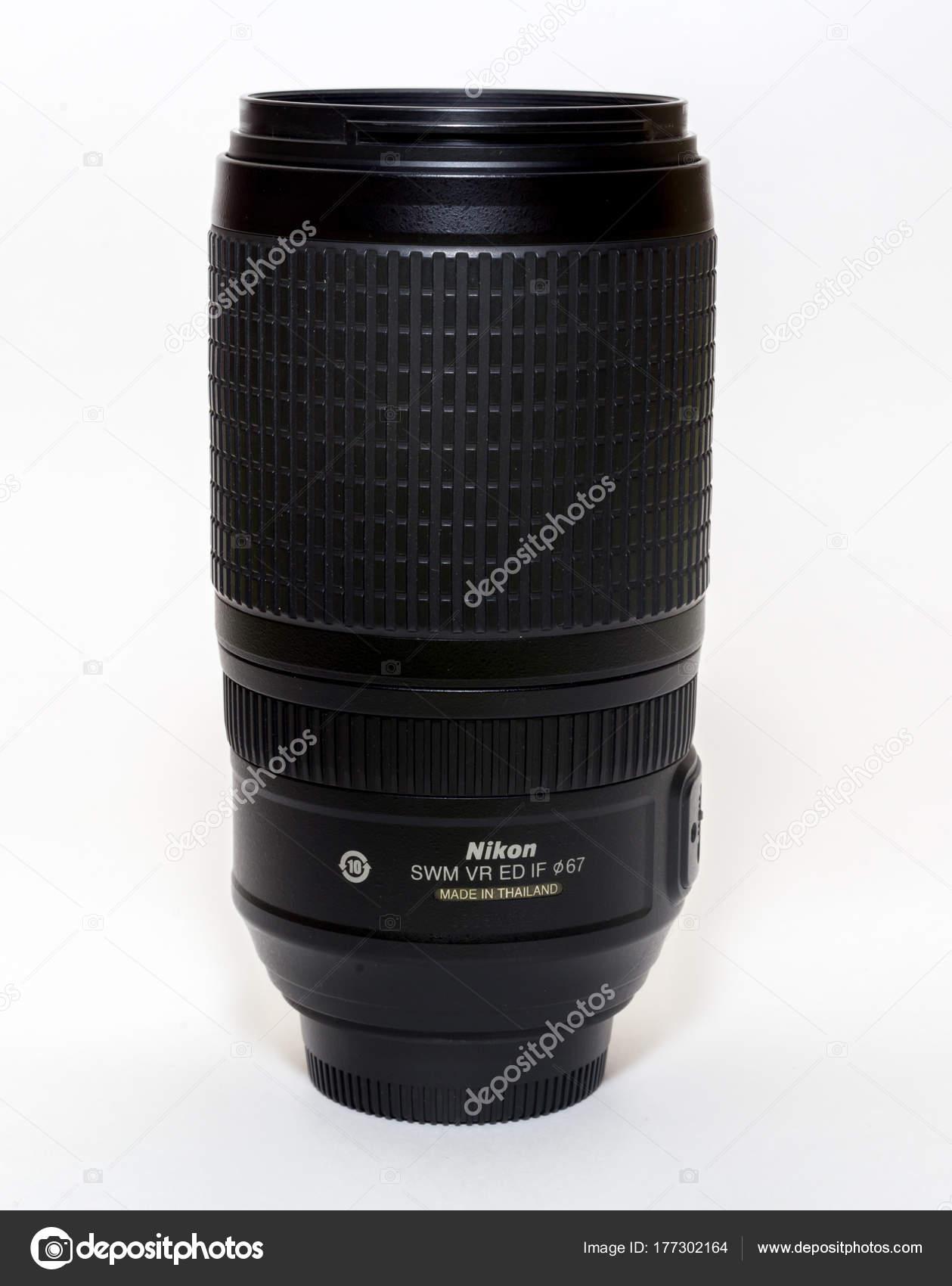 Rusia Vladivostok 2017 Nikon 300 Objetivo Lente Marco Completo Para ...