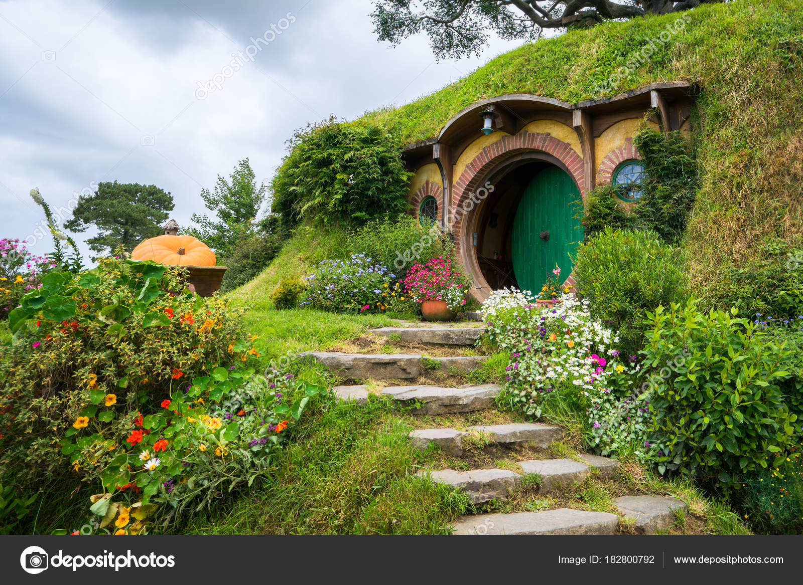 """βιντεο νεα ζηλανδια Hd: Hobbiton Movie Set De """"El Hobbit"""" En Nueva Zelanda"""