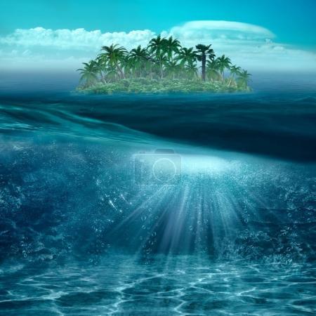 Beauty tropical island