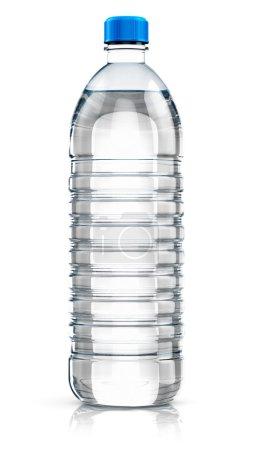 Plastic drink water bottle