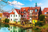 Traditional architecture in Lauf an der Pegnitz, Germany