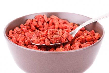 Goji berries in bowl