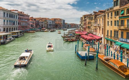 Grand Canal in Venice Italy