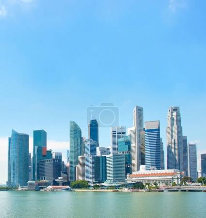 Singapore Downtown view