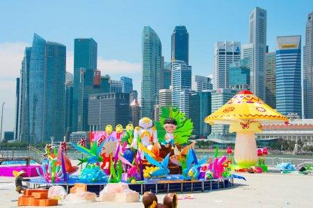 Chinese New Year preparation. Singapore