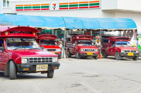 Buses at Chiangmai Bus Station