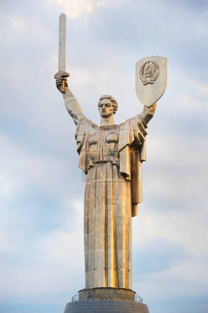 Mother Motherland statue devoted the Great Patriotic War. Kiev, Ukraine.