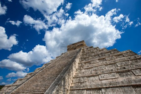 Kukulkan Pyramid in Mexico