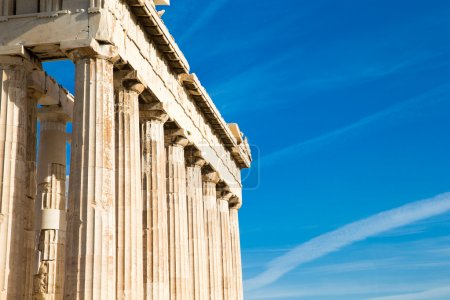 Photo for Parthenon temple on the Acropolis in Athens, Greece - Royalty Free Image
